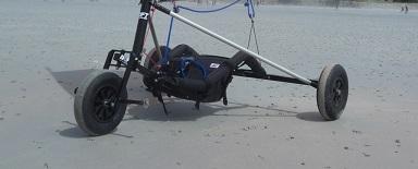 Umbau von Buggy zu Strandsegler
