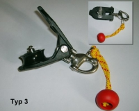 Snatchblock Typ3 Edelst. Schäckel, Piloten bis 90 Kg,Kugellager