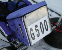 Buggy Bag Big, mit Fach für Startnummer, schwarz oder blau