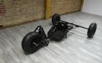 Libre Buggy Sondermodell Größe L- Hinterachse 160 cm - ca. 20cm länger als der Dragster - 3x BigFoot-light Räder