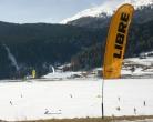 LIBRE Banner weiß oder gelb für Angelrute/Teleskopstab