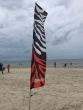Zebra Banner gerade für gerade Stange