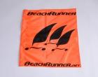 Kleine BeachRunner Flagge 38x38 cm für Wendemarke