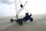 Strandsegler Micro Race 5.5 schwarz, segelfertig