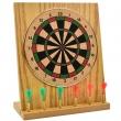 Mini Dartboard, inkl. 6 Mini-Darts Maße ca. 20 x 18 cm