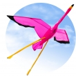 Flamingo 3D - Einleiner, ab 8 Jahren, 100x135cm, inkl. 17kp Polyester Schnüre, 40m auf Spule- Angebot